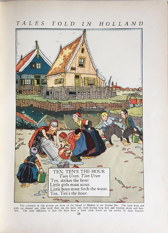 Children's Book Tales Told in Holland Edited