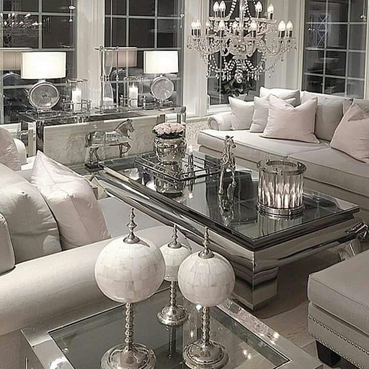 Pin By Sylvia Brea On Living Rooms In 2019 Glam Living