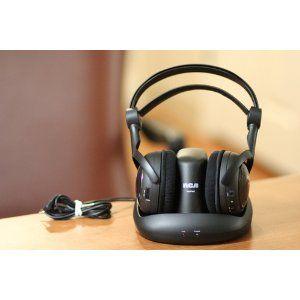 RCA WHP141B 900MHZ Wireless Stereo Headphones 3495 Prime