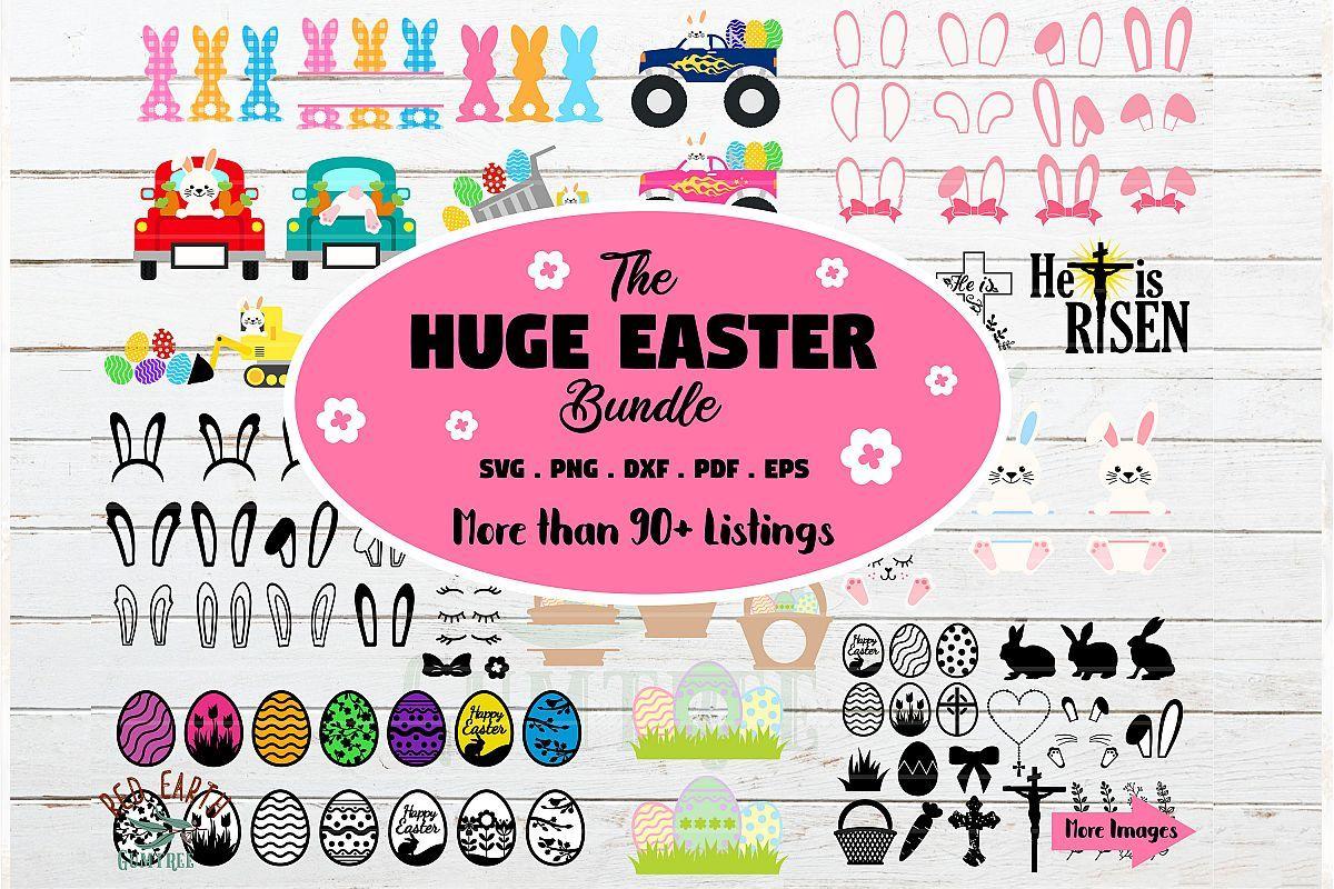 HUGE Easter bundle SVG, Easter bunny,rabbit ears,ester
