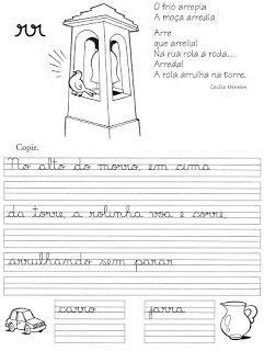 """57 ATIVIDADES DE CALIGRAFIA - TREINO DA CALIGRAFIA ~ """" Cantinho do Educador Infantil """""""