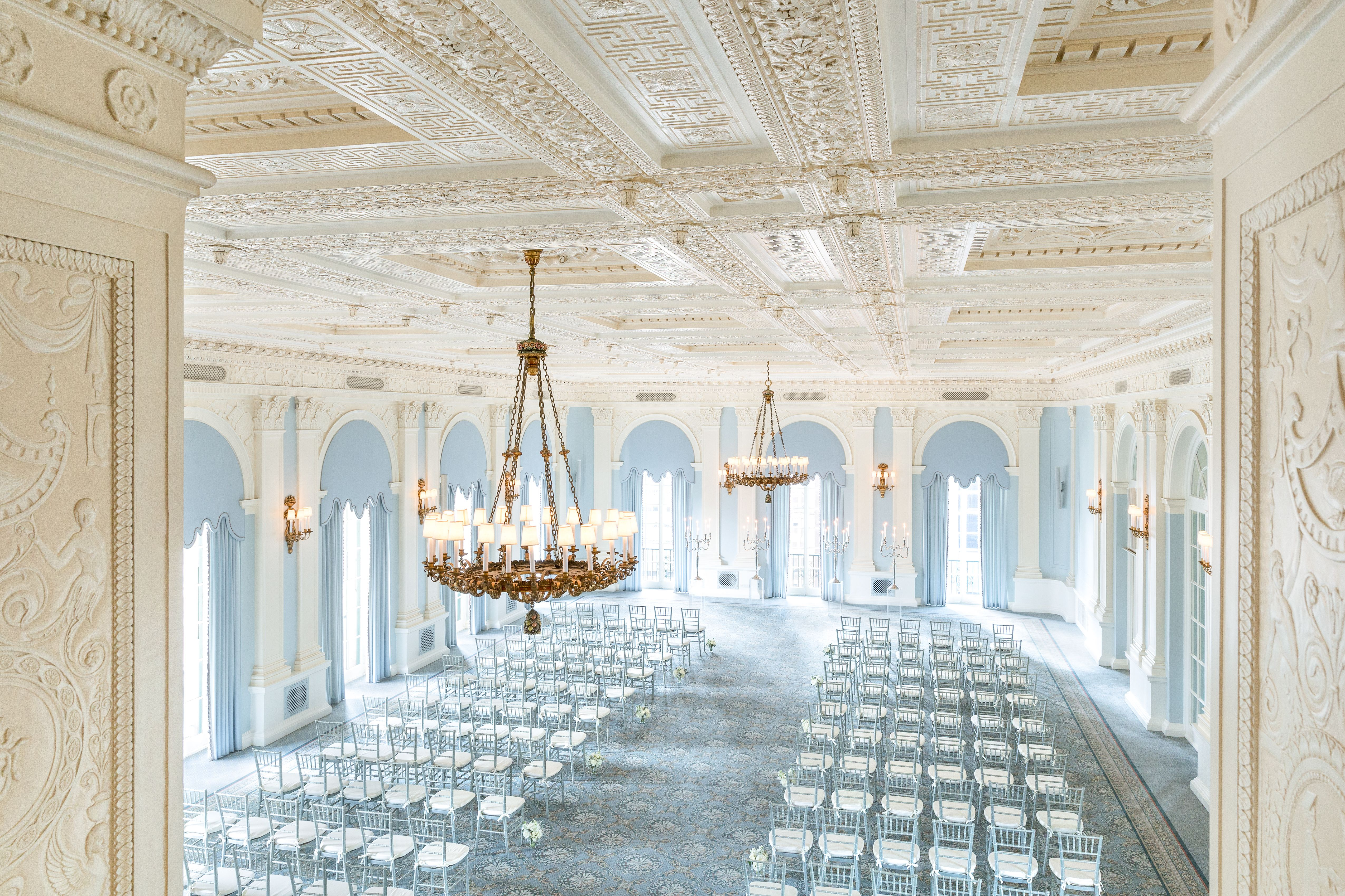 The Grand Ballroom At The Yale Club Of New York City