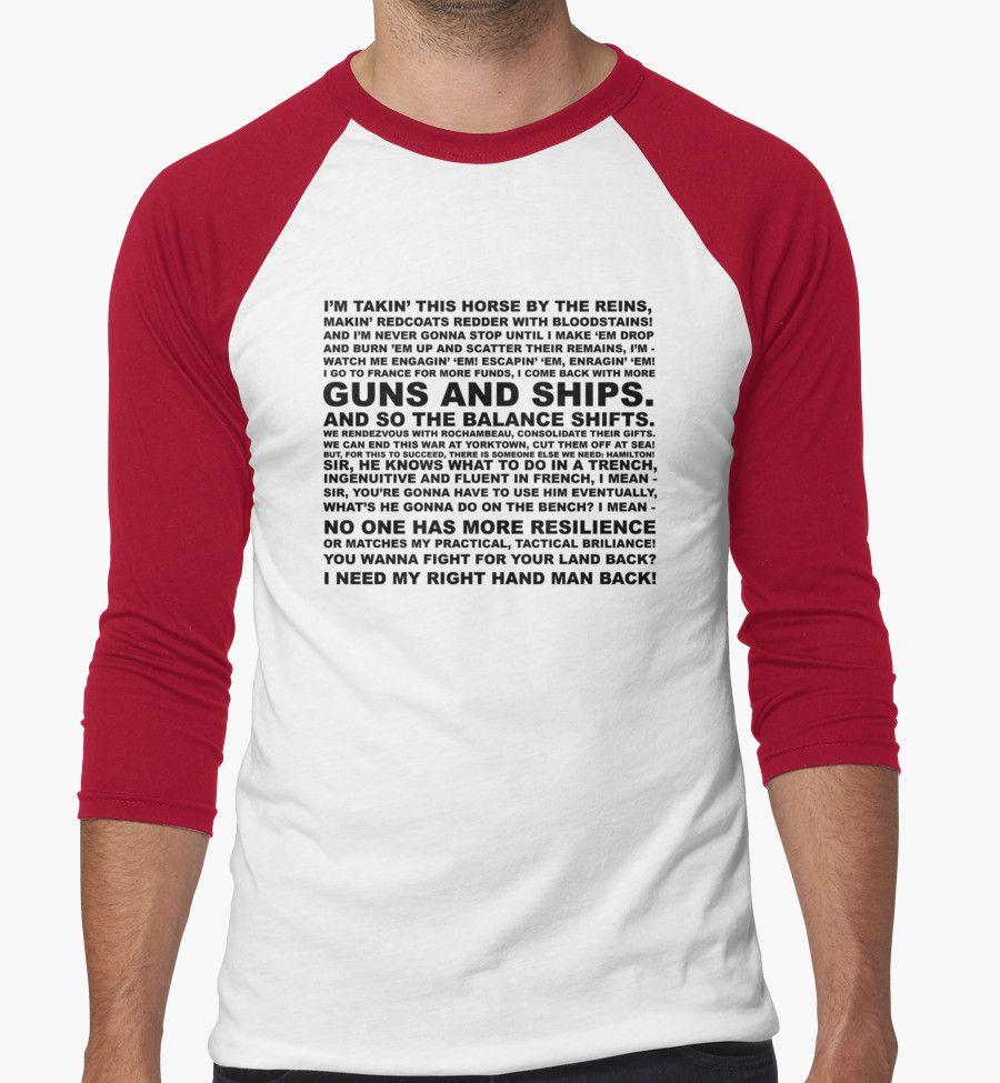 Design your own t-shirt hamilton - Hamilton Guns And Ships Lyrics By Michael Audet