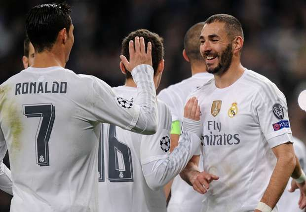 Zidane: Benzema and Ronaldo '100 percent' fit for Man City clash
