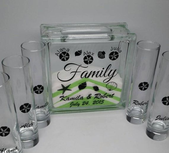 Sand Ceremony Set For Blended Family By TheDreamWeddingShop