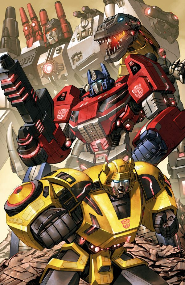 Here's a recent commission featuring the Fall of Cybertron