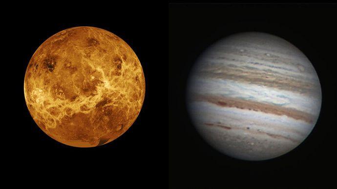Venus Jupiter To Pair In Spectacular Star Of Bethlehem
