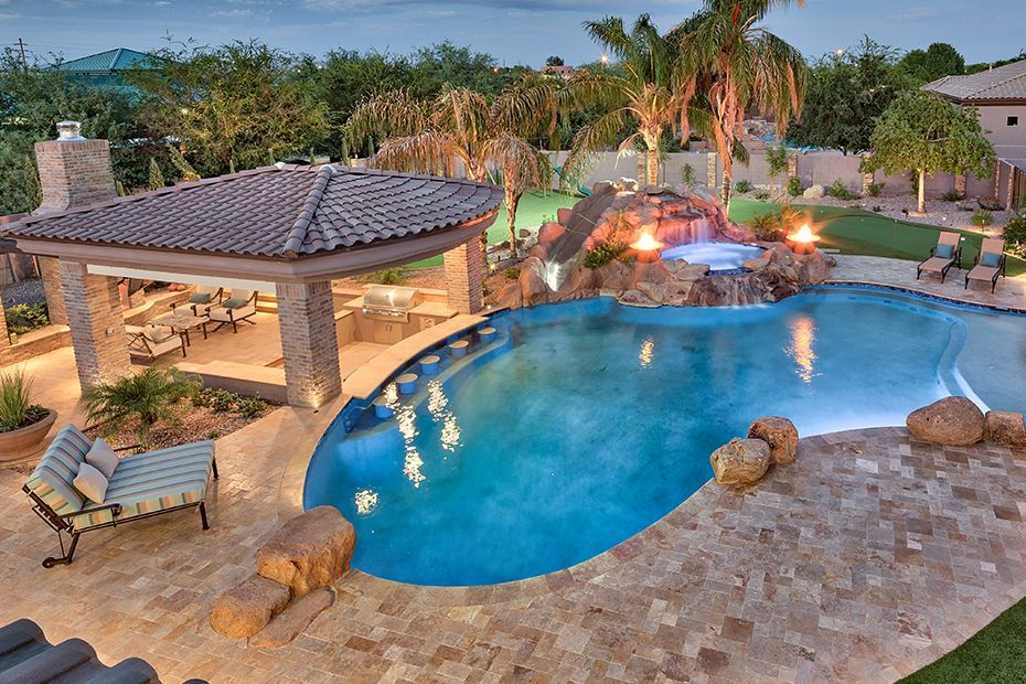 Pool Contractors Near Me Pools Backyard Inground Luxury Swimming Pools Backyard Pool Landscaping