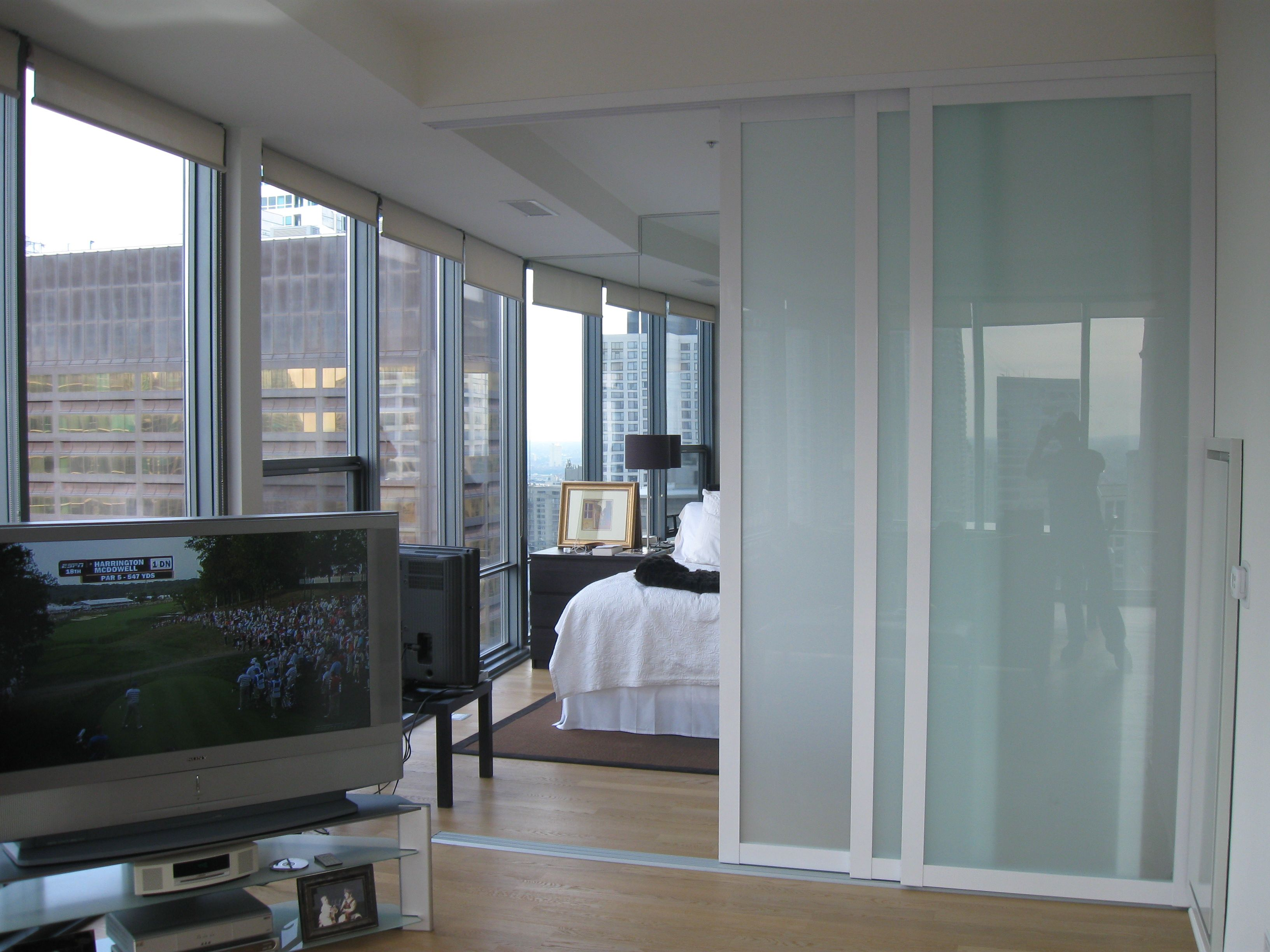 Interior sliding glass doors room dividers - Find This Pin And More On Room Divider Ideas Glass Room Sliding
