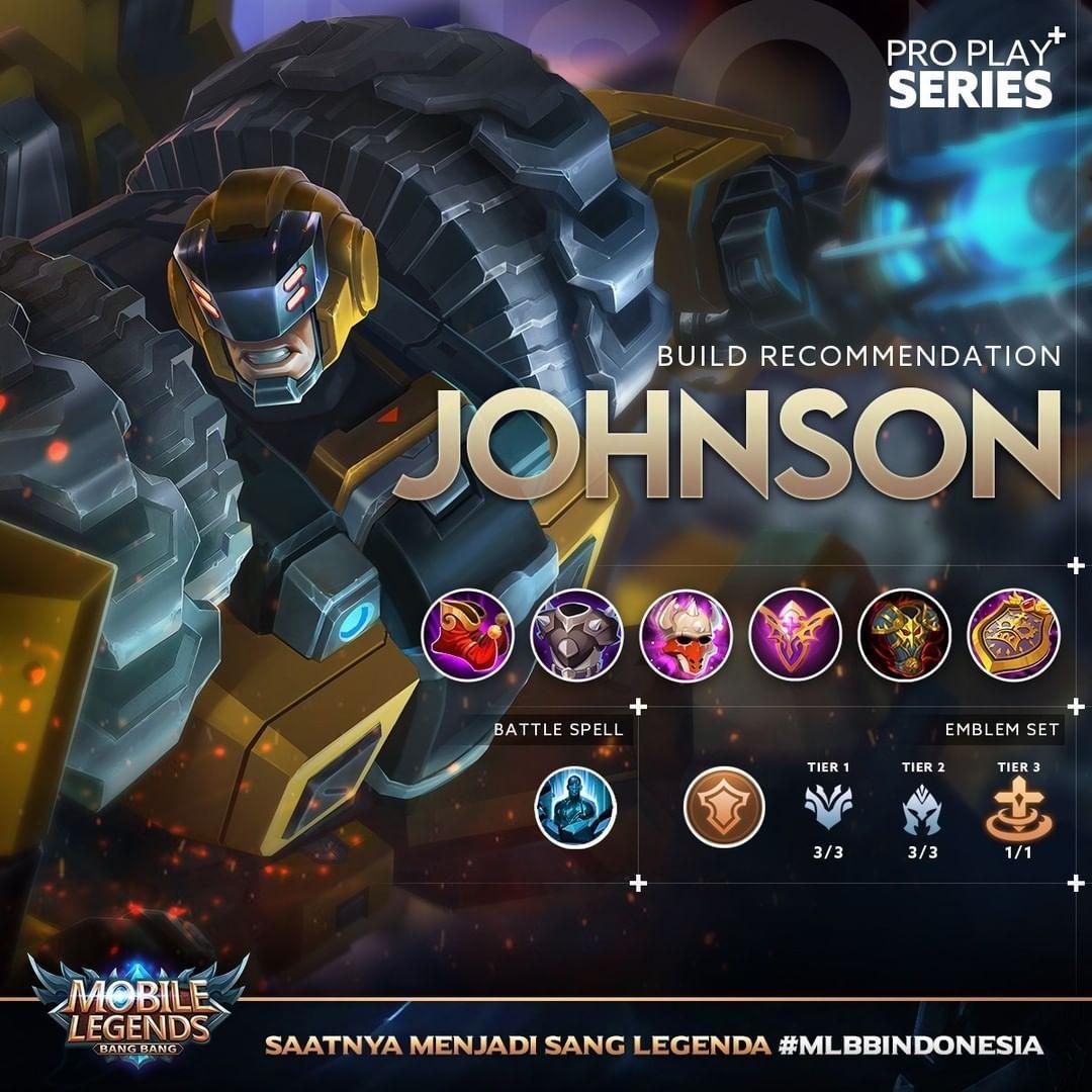 Build Rekomendasi Untuk Herro Johnson Dapatkan Update Terbaru Untuk Build Terbaru Mobile Legend Mobile Legend Wallpaper Mobile Legends Types Of Magic