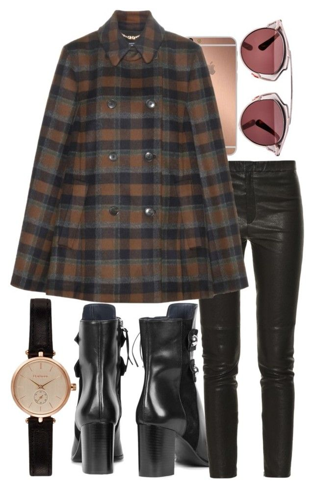 """""""Untitled #997"""" by thehatlogic ❤ liked on Polyvore featuring Isabel Marant, Mura, Salvatore Ferragamo, Christian Dior and Barbour"""