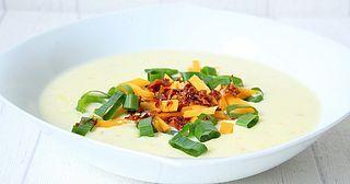 Baked Potatoe Soup ♡ Backkartoffel Suppe   Thermomix - Rezepte mit Herz   Bloglovin'