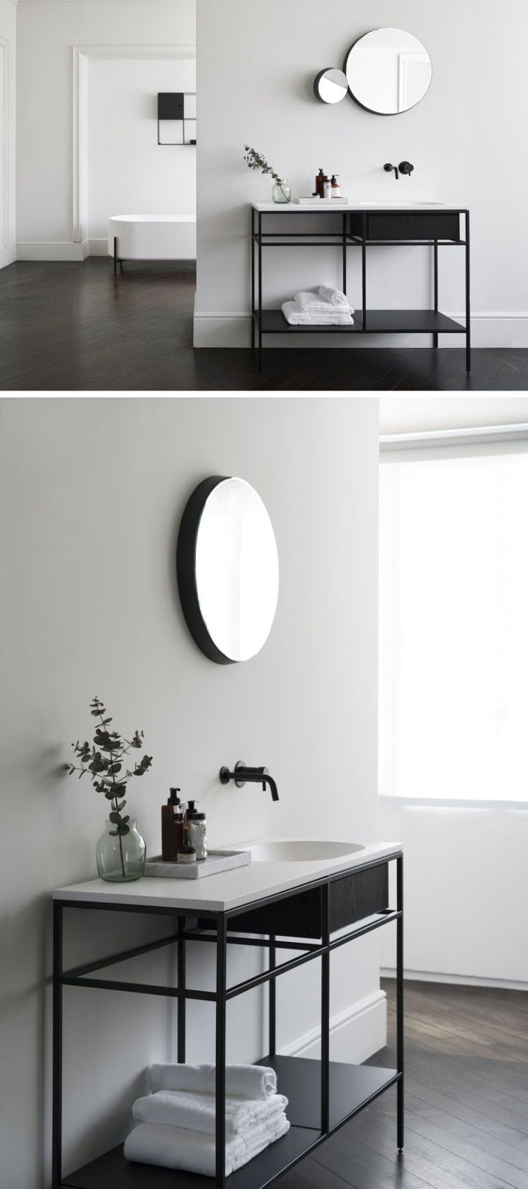 5 x 4 badezimmerdesigns norm architects have designed a collection of minimalist bathroom