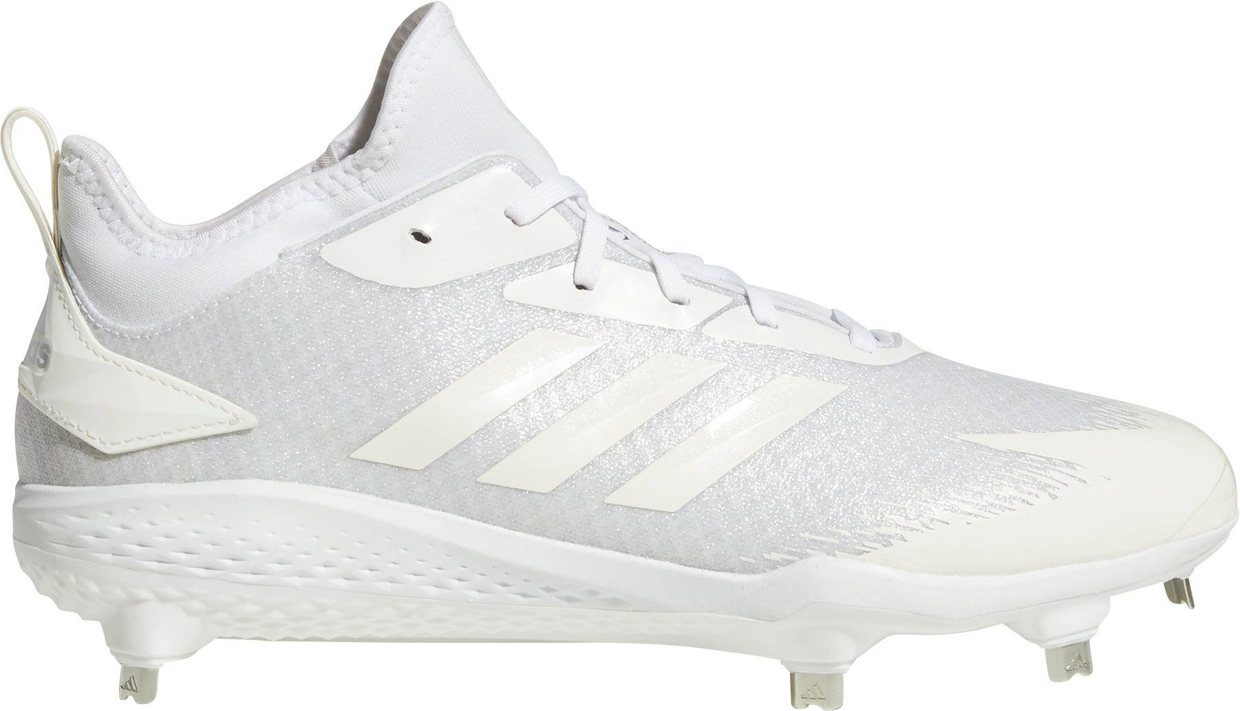 check out 562bd 8103b adidas Mens adiZERO Afterburner V Dipped Metal Baseball Cleats, Size 7.5,  White