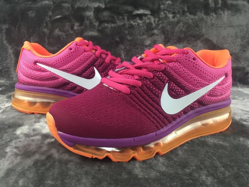 the best attitude aefcf 3a391 ... uk nike air max 2017 purpel pink orange white women shoes 1d8a9 2a568