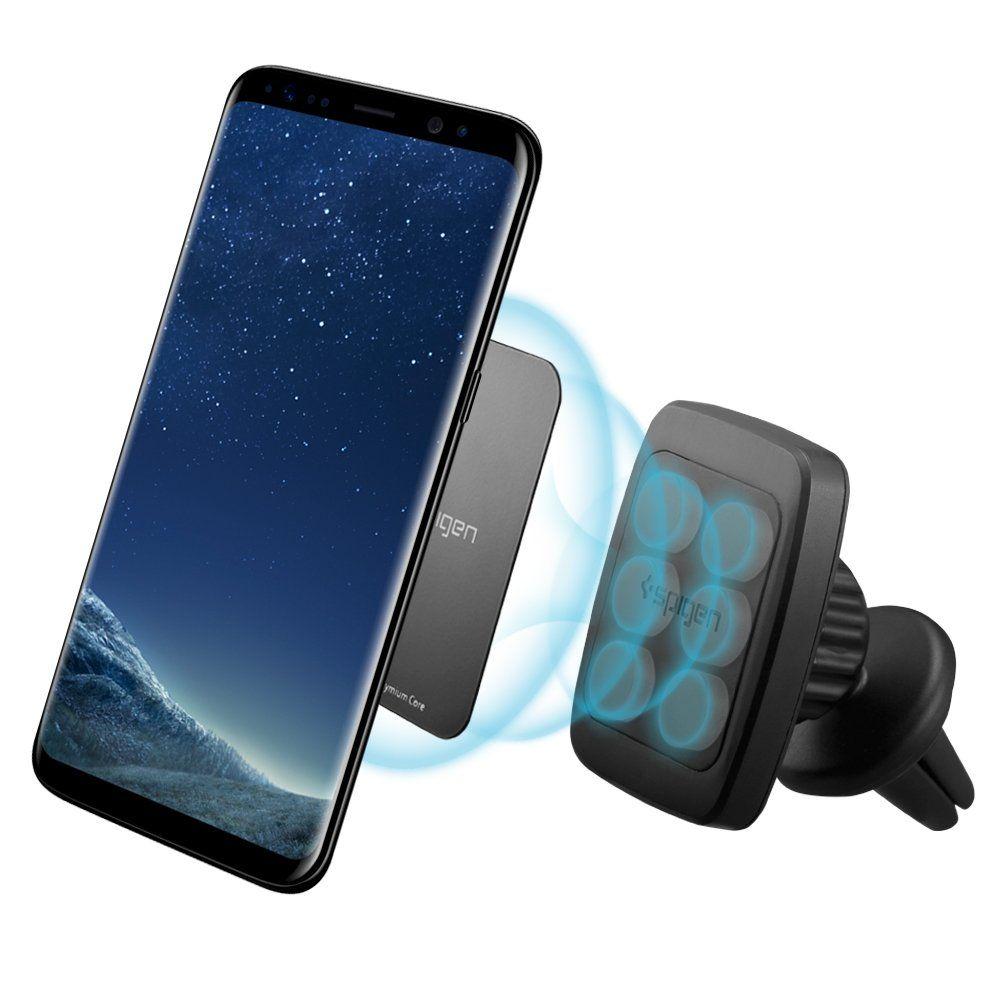size 40 82065 cd322 Spigen Kuel A201 Car Phone Mount Premium Magnetic Air Vent Phone ...