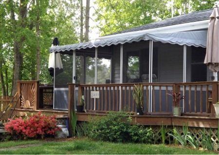 Ontario Deck Enclosures Three Sided Patio Enclosure Kits In Canada Patio Enclosures Patio