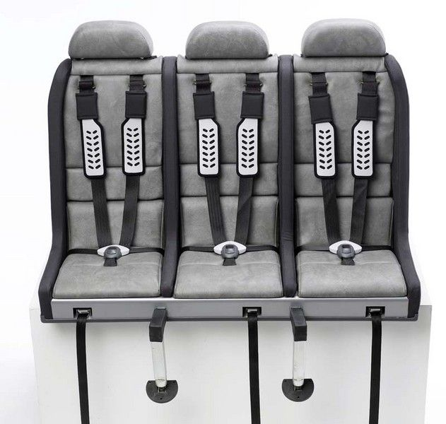 universal car seats for any small car to accommodate 3 ...