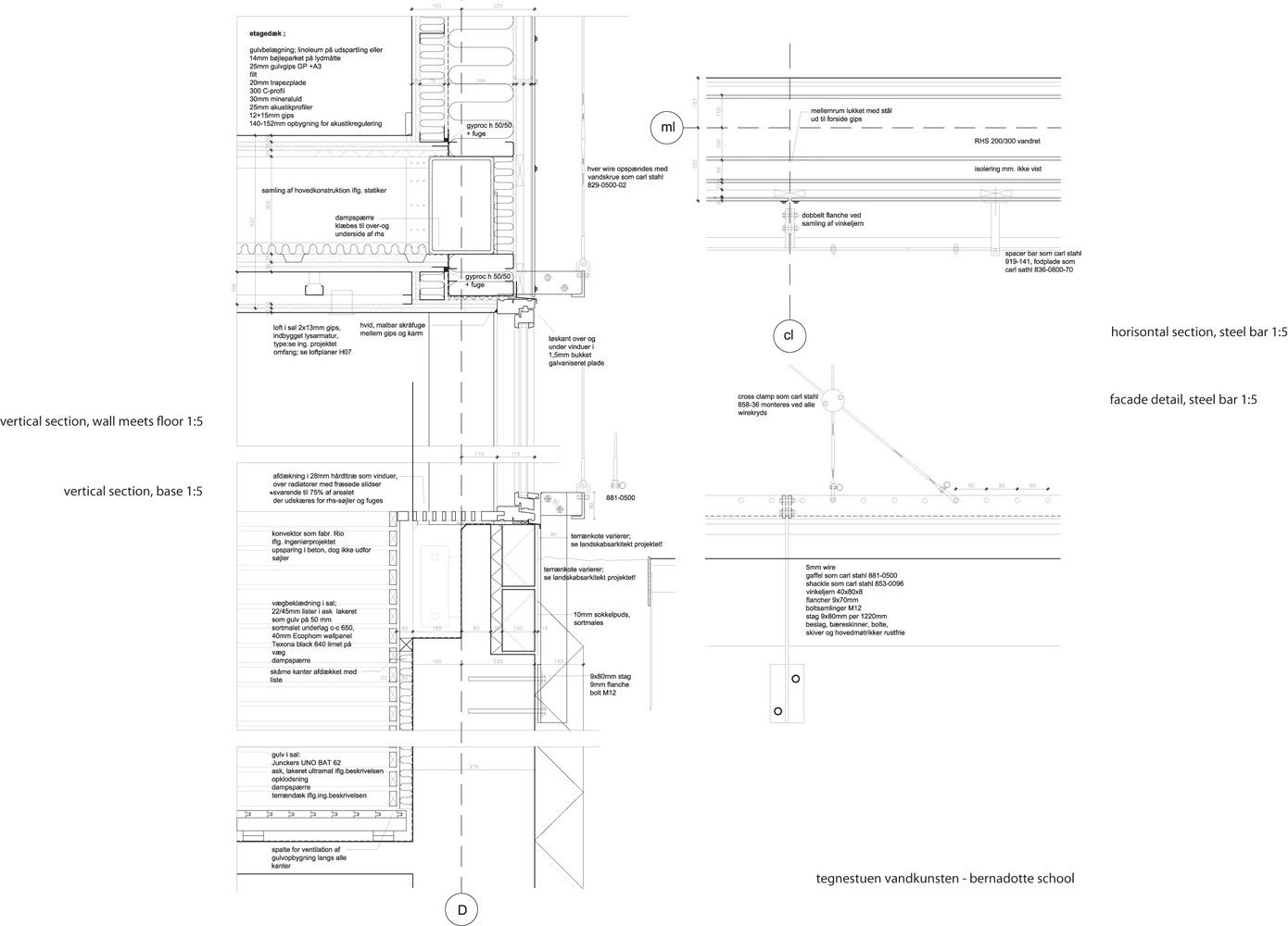 Galería de Ampliación Escuela Bernadotte / Tegnestuen Vandkunsten - 15