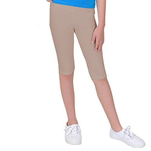 Stretch is Comfort Girl's Cotton CAPRI Leggings Beige Med... https://www.amazon.com/dp/B01A1DSYZI/ref=cm_sw_r_pi_dp_7lsHxbH3M86JQ