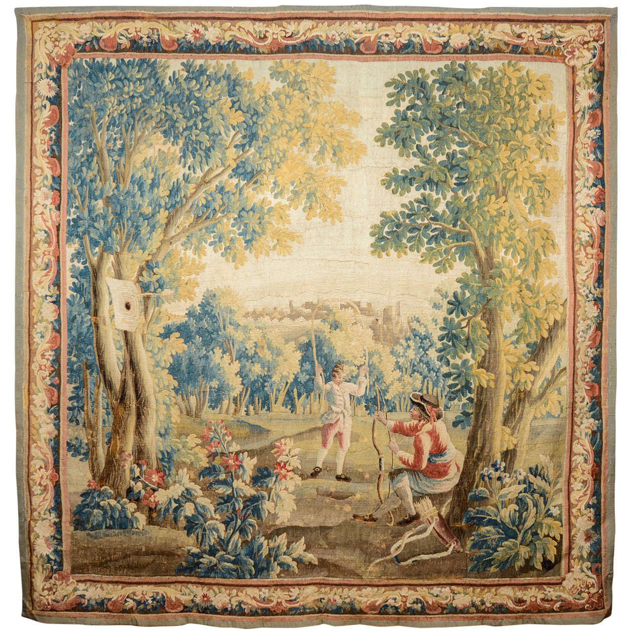 Louis XV Aubusson Tapestry | From a unique collection of antique ...