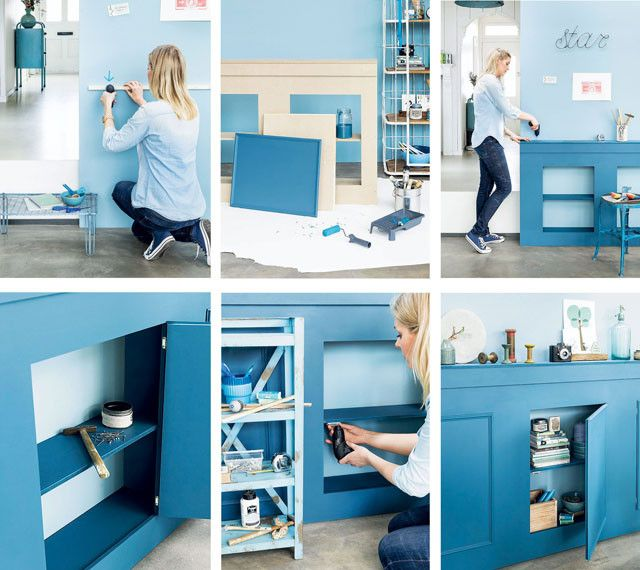 101 Woonideeen Tv Meubel.Paneling In 10 Steps With Wardrobes 101 Woonideeen Diy Projects