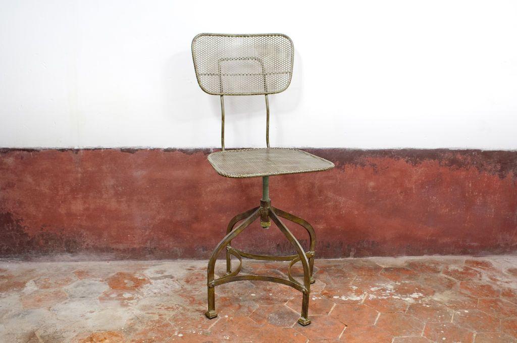 Sedie Industriali ~ Questa sedia industriale ha stile vintage da vendere. realizzata