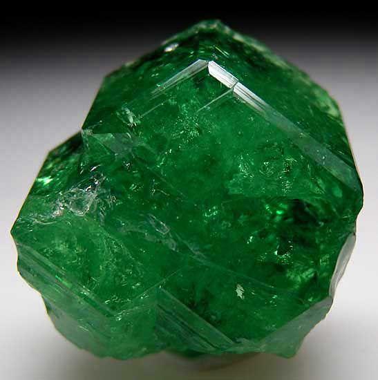 Tsavorite - Merelani Hill, Tanzania - #pixiecrystals - photo credit: Marin Mineral Company