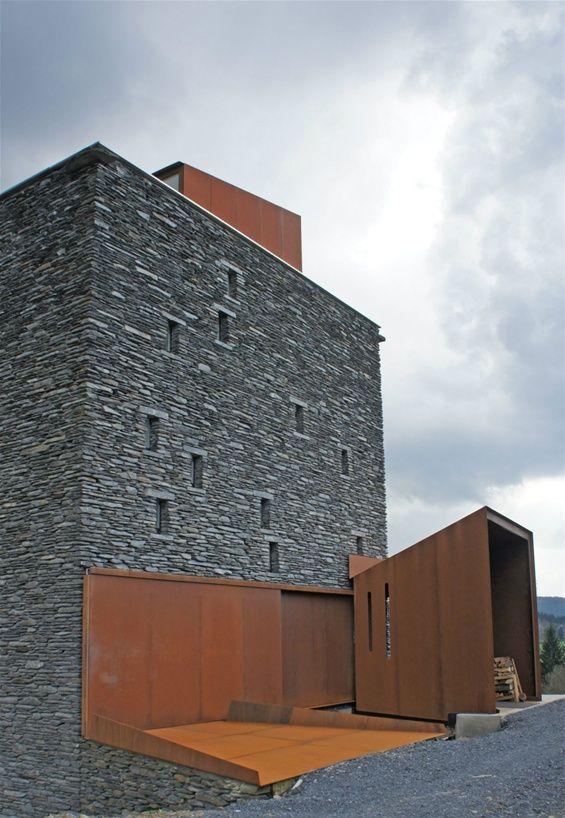 Acier Corten démo - www.123website.be/dejeond | Architecture ...