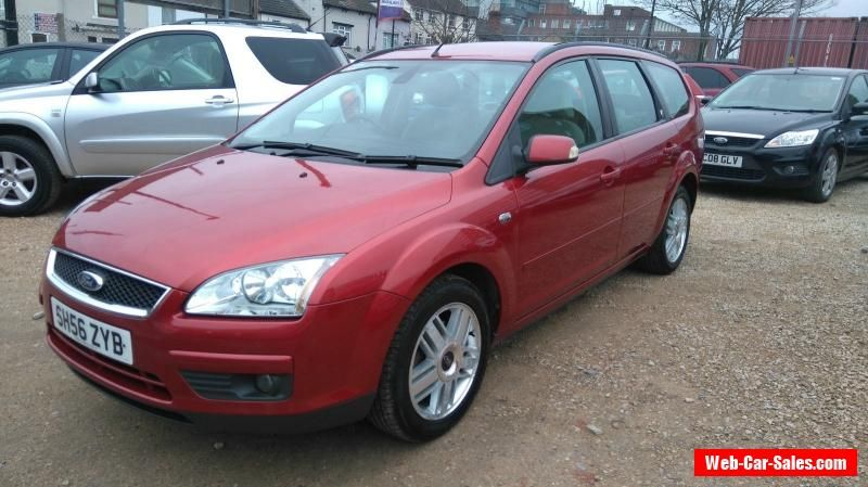 Ford Focus Estate 1 6 Tdci 2006 56 Ford Focus Forsale Unitedkingdom Ford Focus Cars For Sale Ford