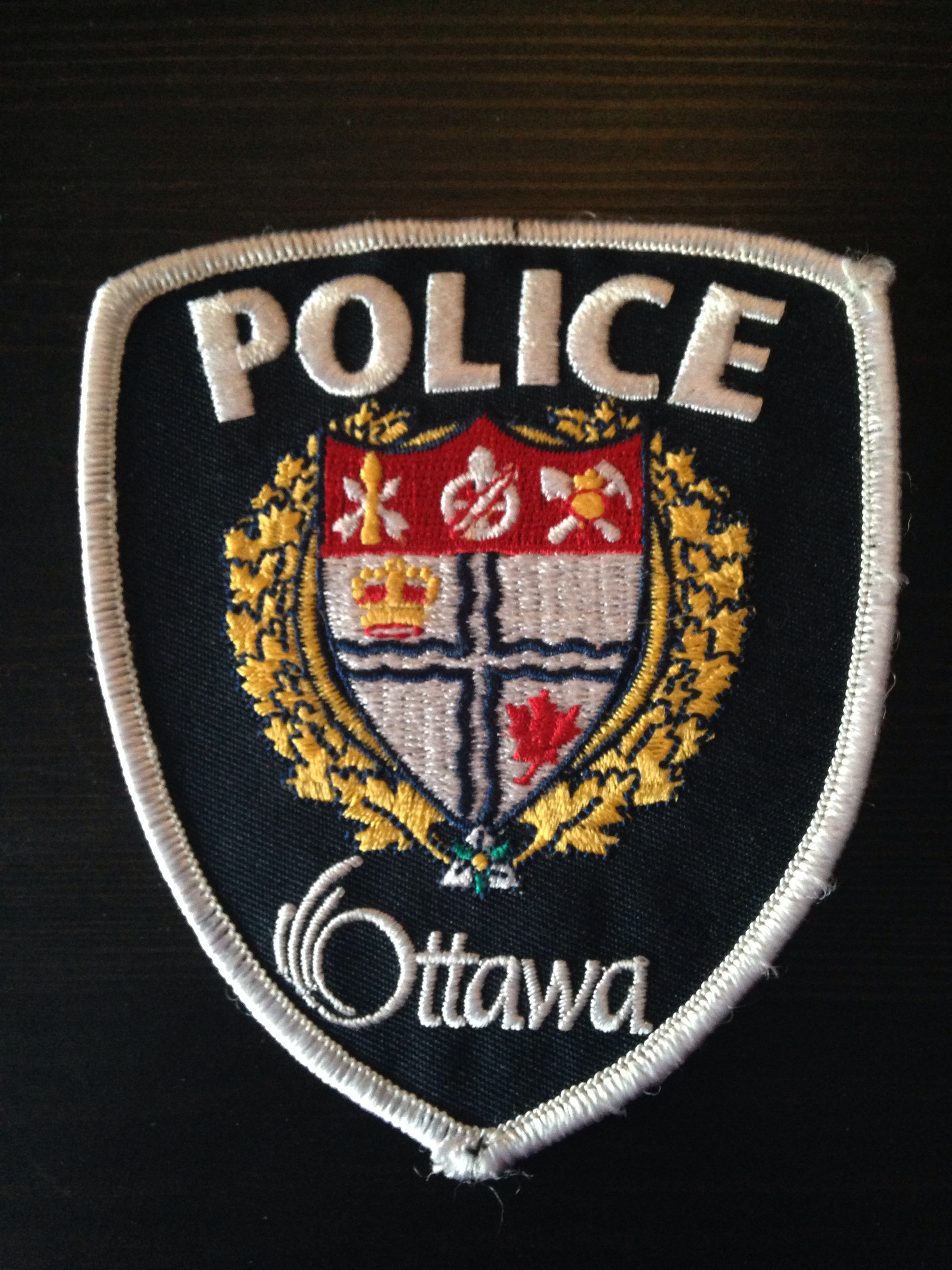 Ottawa Police Ontario Canada Obsolete Police Patches Police Badge Police