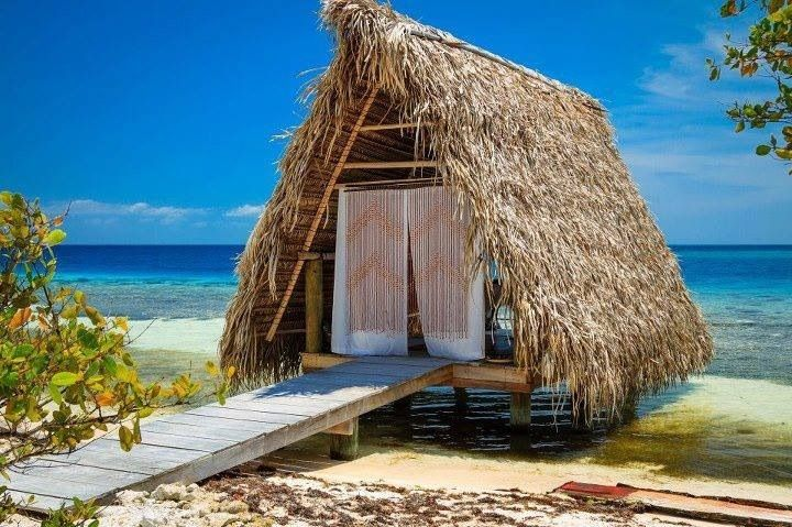 Awesome beach hut in Belize.