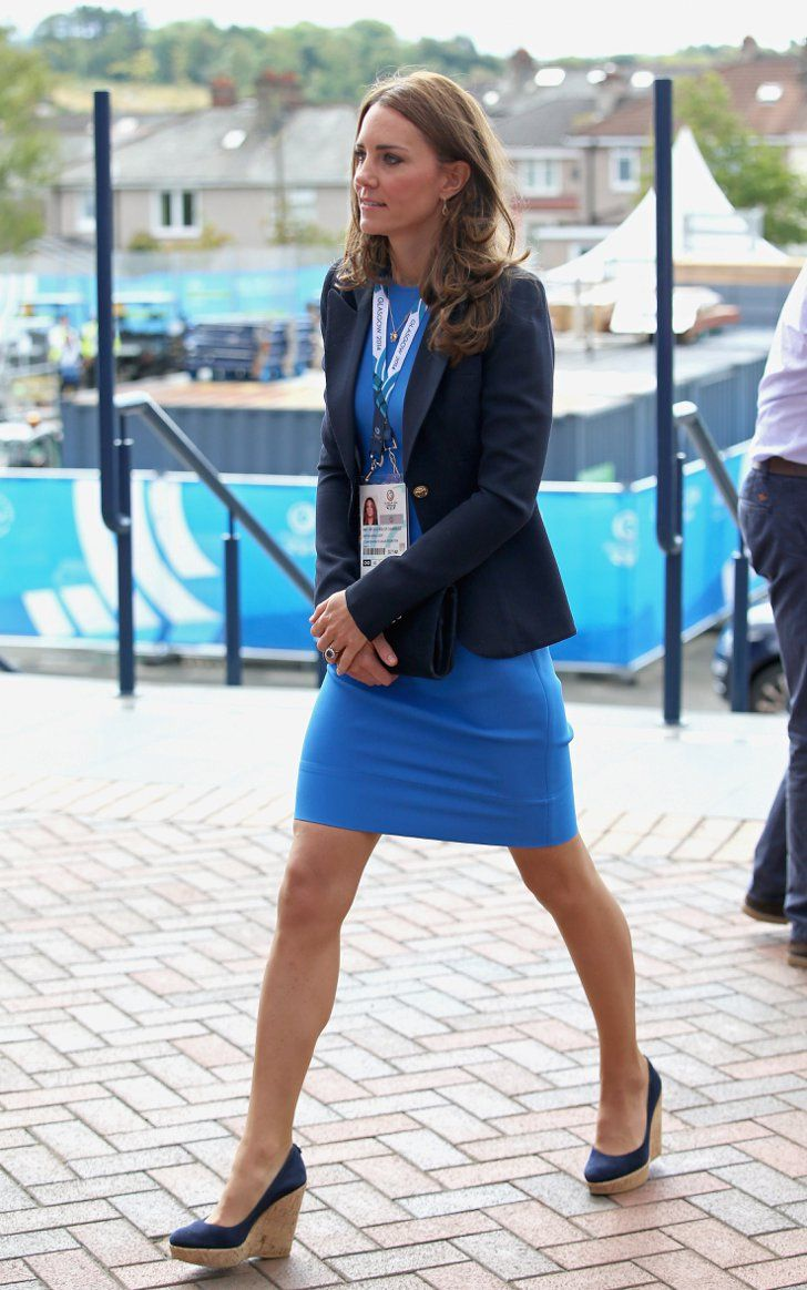 Kate Hops In Sky High Wedges After Getting Hot With Will All Clarette Cornelia Black Pin For Later