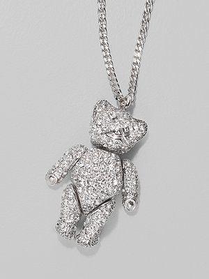 6814907e6e3d07 Dior Teddy Bear Necklace | Christian Dior | Dior, Pendant necklace ...