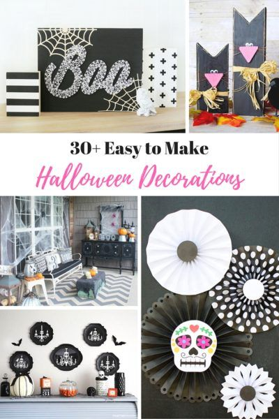 30+ Easy to Make Halloween Decorations Scary halloween and Decoration - make halloween decoration