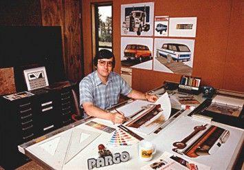 Ford designer Dick Nesbitt