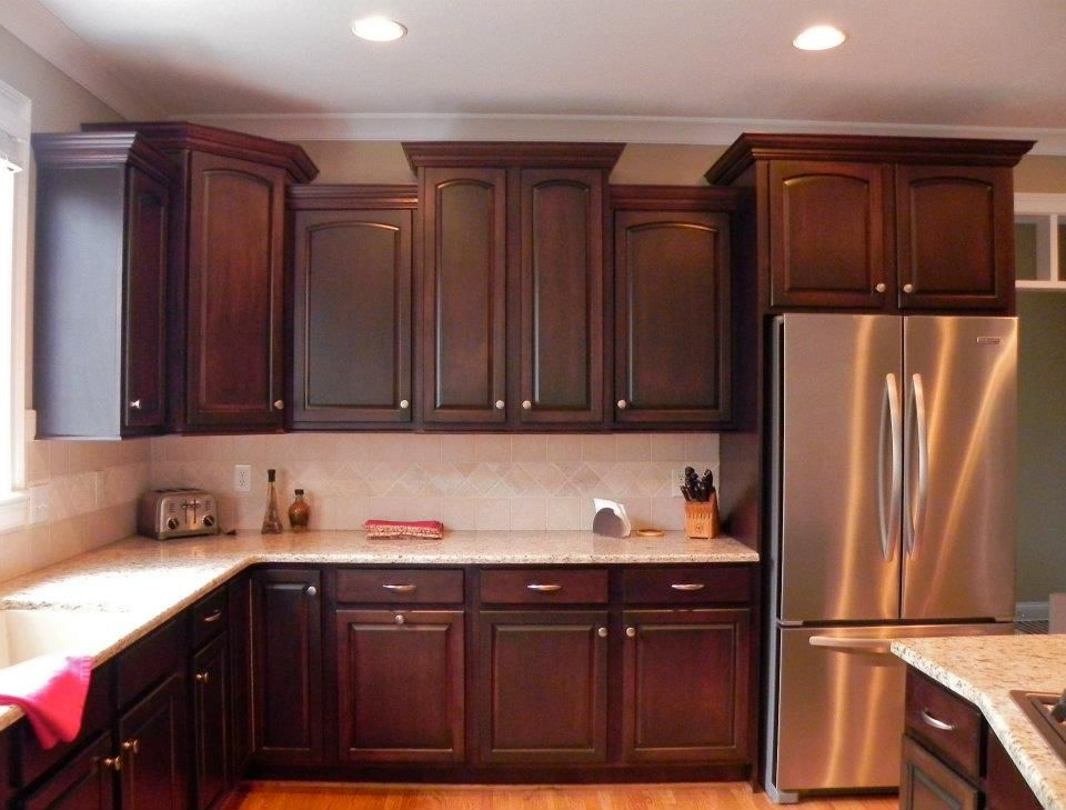 Lots of cabinet space in this kitchen. #affordableluxury