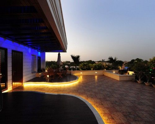 Cool LED Lighting for Outdoor Patio Ideas for the House