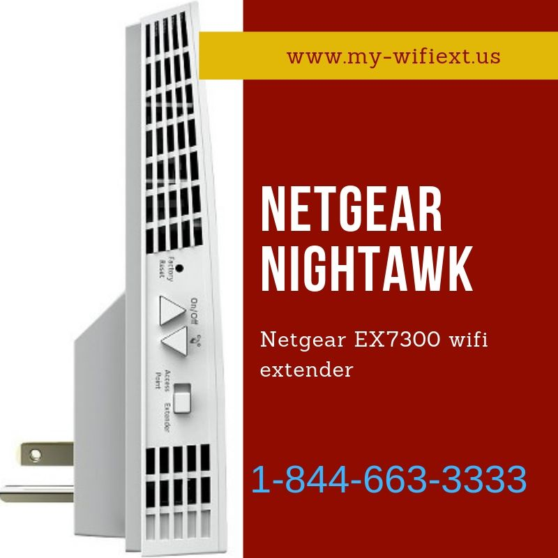 Netgear EX7300 wifi extender has the capability to amplify