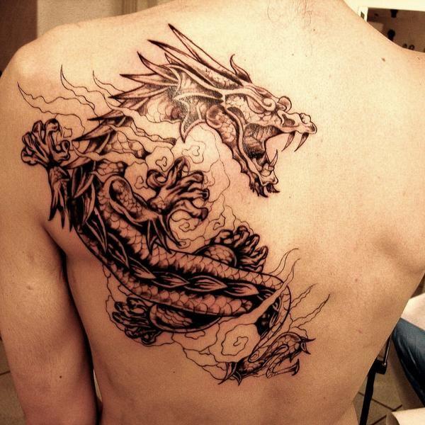Resultat De Recherche D Images Pour Tatouages Dragon Chinois