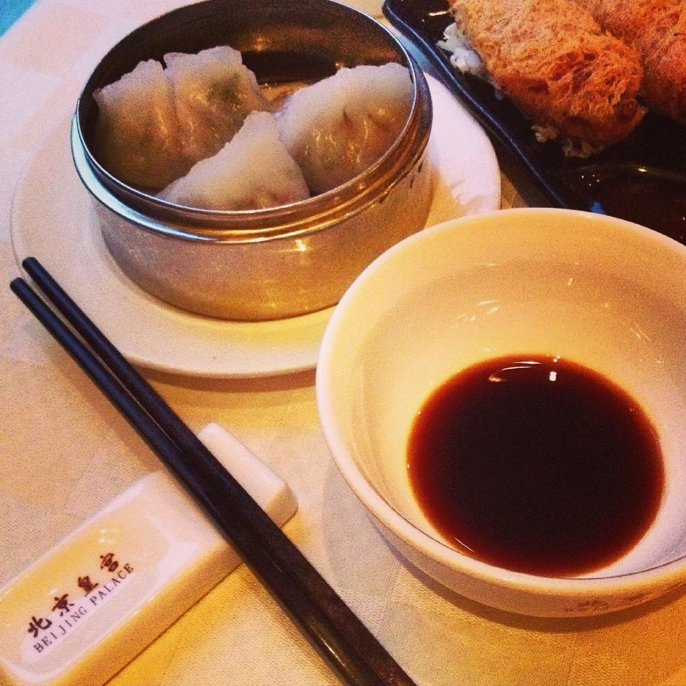 The only dim sum place in Oslo. Very good and affordable food. Beijing palace     In pilestredet.