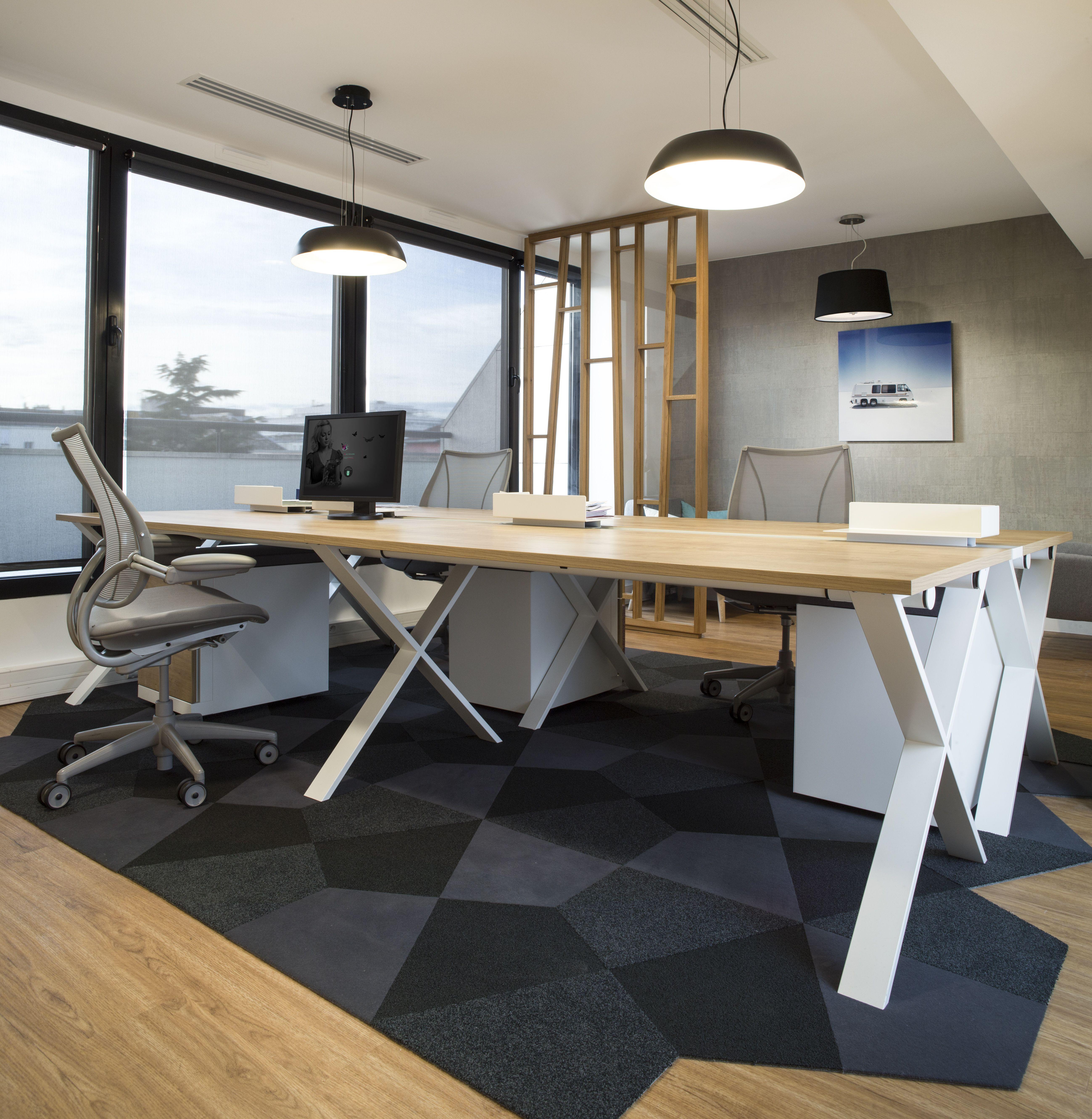 Amenagement Open Space Davidson Par Cleram Style Design Bureau