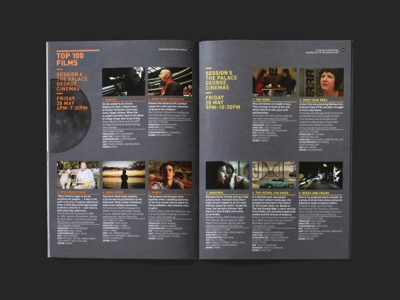 st kilda film festival brochure by studio brave editorial