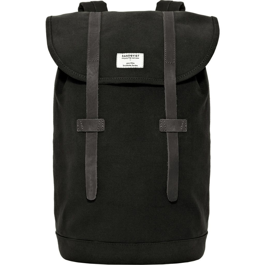 e198ee73f239 Sandqvist created the Stig Backpack with cotton canvas and leather details  for a clean