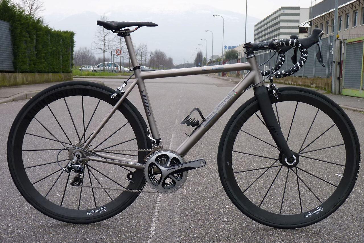 Legend Il Re Titanium Road Bike On Bike Showcase Titanium Road Bike Titanium Bike Bike Riding Benefits