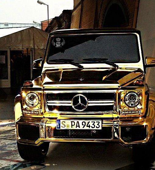 Gold Mercedes Ccar Jeep 18k Gold Mercedes Benz Cars Mercedes