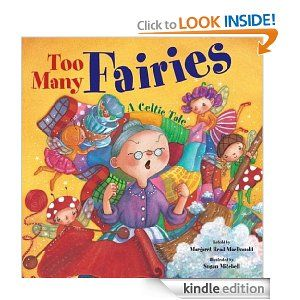 On sale today for $1.99: Too Many Fairies by Margaret Read MacDonald, 32 pages, 4.7 stars, 15 reviews