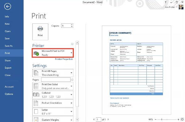 Cara Lengkap Membuat File Pdf Dan Print Ke Pdf Centerklik Linux Printer Iphone