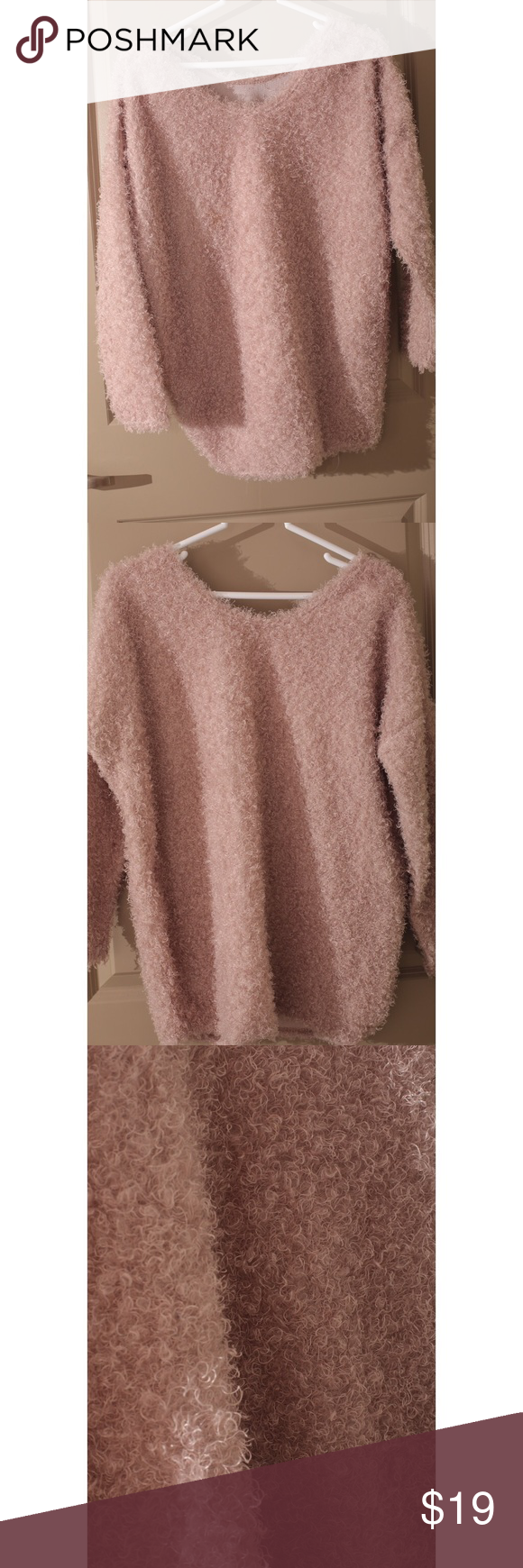 Light pink sweater | Outlets, Customer support and Delivery