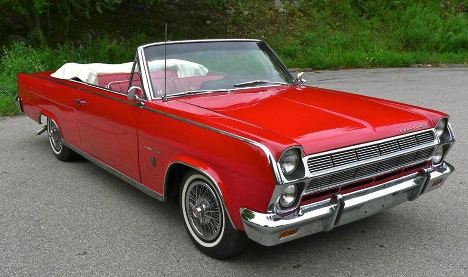 1965 Amc Rambler Ambassador 990 Convertible American Motors